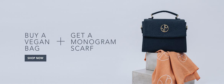Free Monogram Scarf for Each Bag
