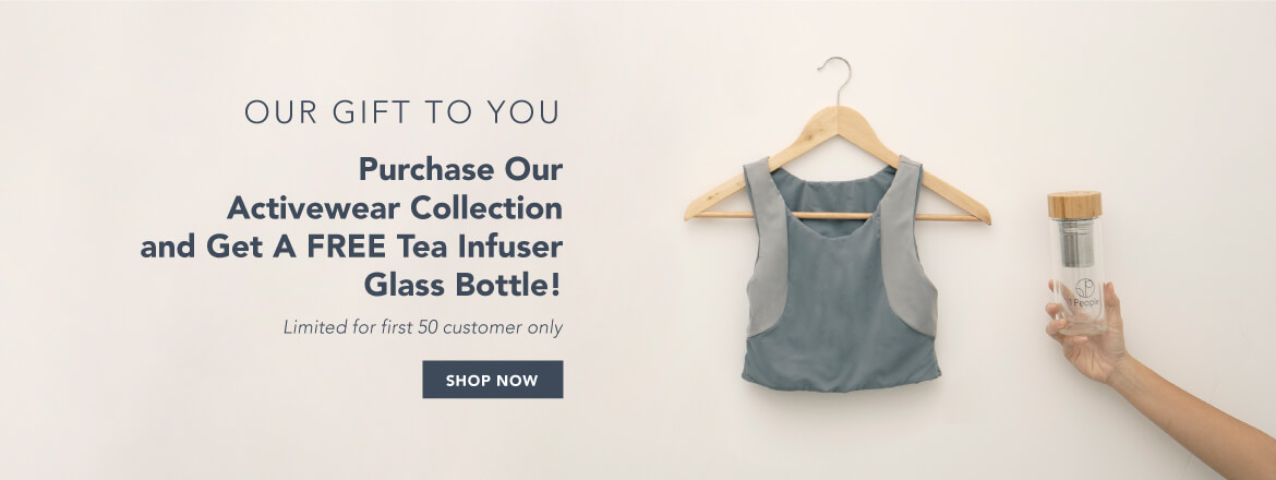 Free 1 Tea Bottle Infuser for Activewear Purchase