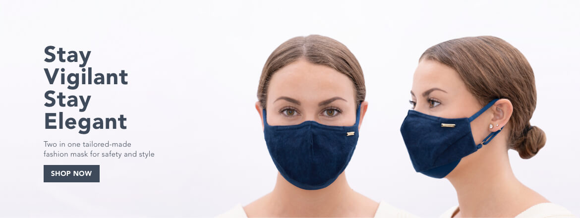 Elegant and Vigilant Sustainable Face Mask by 1 People