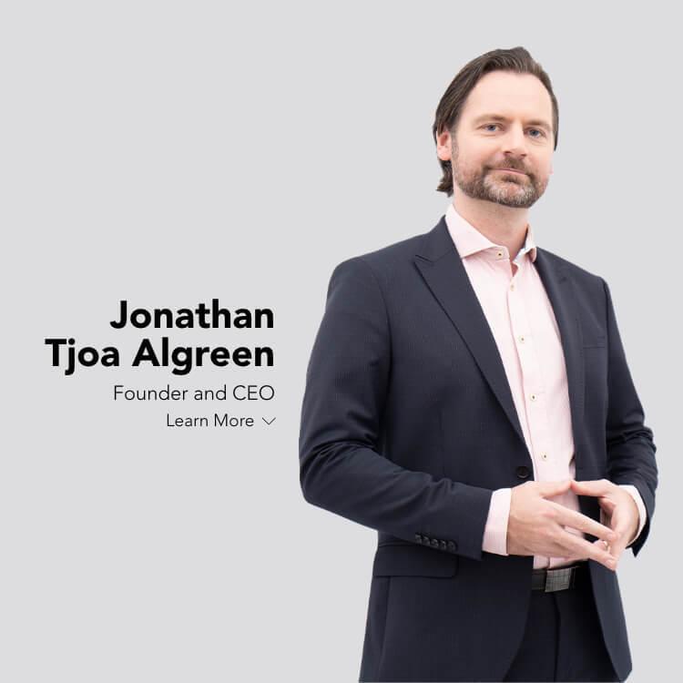 Our CEO, Jonathan Tjoa Algreen